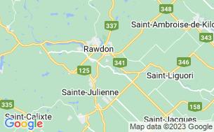 Map of Camping La Fierté «Hommes Seulement»