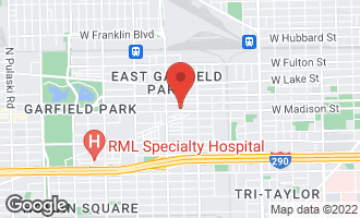 Map of 2906 West Madison Street CHICAGO, IL 60612