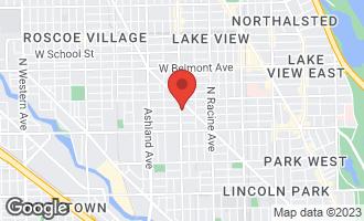 Map of 2915 North Southport Avenue 2F CHICAGO, IL 60657