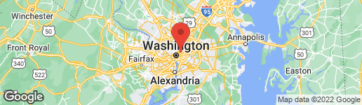 Map of 2917 CHANCELLORS WAY NE WASHINGTON, DC 20017