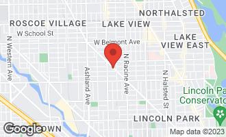 Map of 2920 North Lincoln Avenue 3F CHICAGO, IL 60657