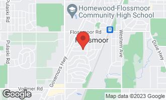 Map of 2921 Bob O Link Road FLOSSMOOR, IL 60422