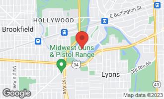 Map of 293 Scottswood Road RIVERSIDE, IL 60546