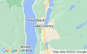 Map of Woods Lake Resort