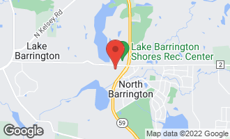 Map of 295 Border Lane NORTH BARRINGTON, IL 60010