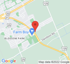 Google Map of 2951+Bank+Street%2COttawa%2COntario+K1T+1N9