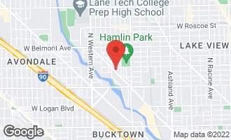 Map of 2951 North Clybourn Avenue #406 CHICAGO, IL 60618