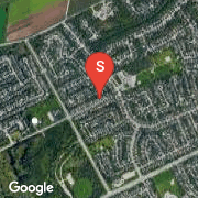 Satellite Map of 296 CONSERVATION Drive, Waterloo, Ontario