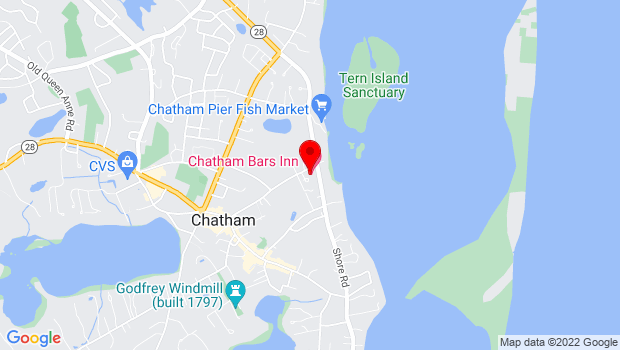 Google Map of 297 Shore Road, Chatham, Ma 02633