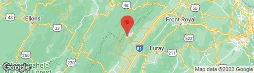 Map of 298 THE HILL ROAD T-18 BASYE, VA 22810