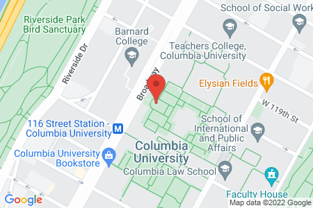 Map of Columbia partner Location
