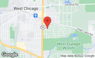 Map of 29W276 Bolles Avenue WEST CHICAGO, IL 60185