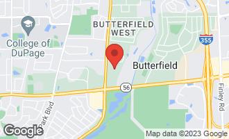 Map of 2S532 Danbury Drive GLEN ELLYN, IL 60137