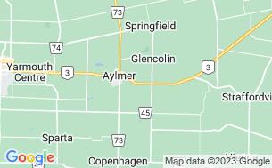 Map of Mitchell's Bay Marine Park Ltd