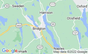 Map of Bridgton Marina
