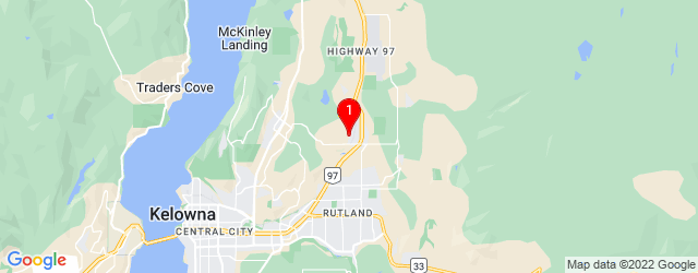 Google Map of 3-3308 Appaloosa Road Kelowna, BC, V1V 2W3