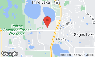 Map of 3 Crows Nest Court Third Lake, IL 60030
