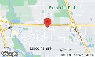 Map of 3 Devonshire Lane LINCOLNSHIRE, IL 60069