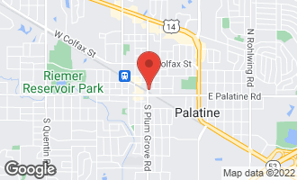 Map of 3 East Slade Street PALATINE, IL 60067