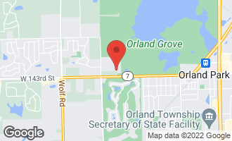 Map of 3 Old Tamarack Lane ORLAND PARK, IL 60462