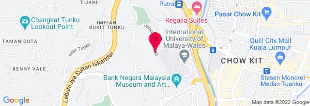 Map for Putra World Trade Center