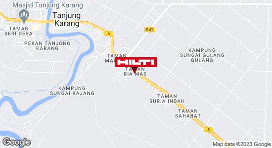 Get directions to TANJONG KARANG