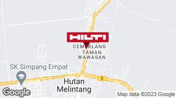 Get directions to Hutan Melintang