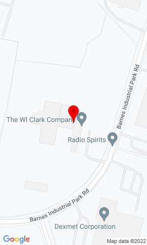 Google Map of W.I. Clark Company 30 Barnes Industrial Park Road S, Wallingford, CT, 06492