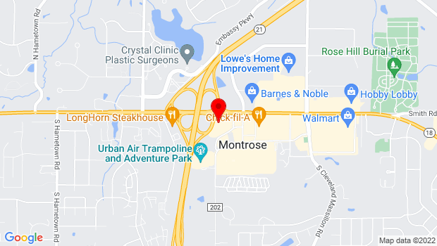 Google Map of 30 Rothrock Loop, Copley, OH 44321