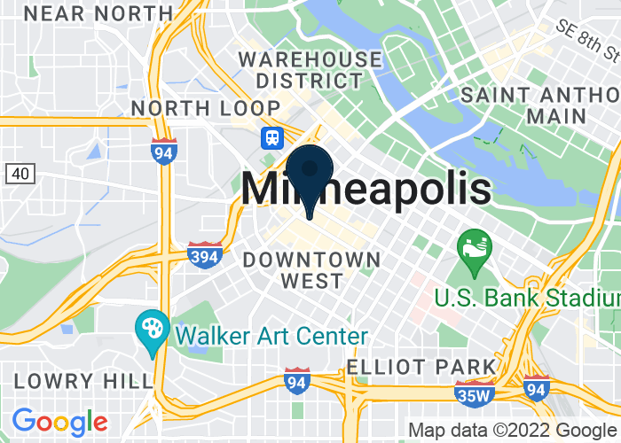 Map of 30 South 7th Street, Minneapolis, MN, United States