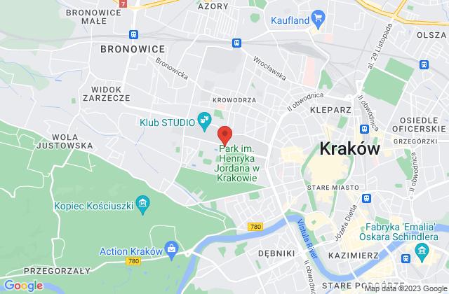 Wyświetl Stowarzyszenie Kibiców Wisły Kraków na mapie