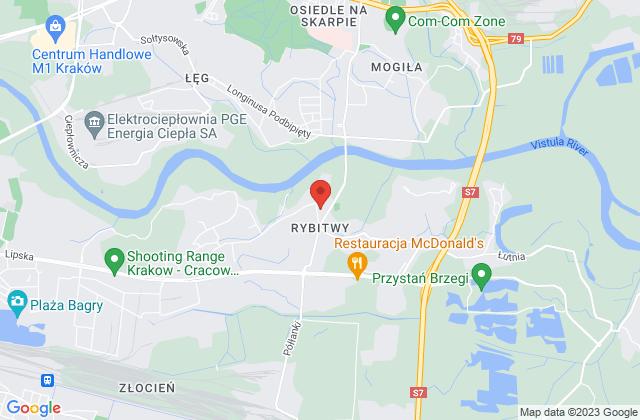 Wyświetl Paulina Żmuda,Firma Handlowo Usługowa Róża na mapie