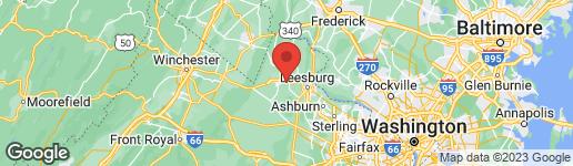 Map of 30 JAMES STREET S HAMILTON, VA 20158