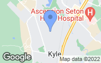 Map of Kyle, TX