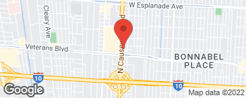 Map of 2901 N Causeway Blvd in Metairie