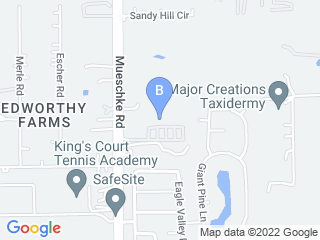Map of Cypress Fairhaven Animal Hospital Dog Boarding options in Cypress | Boarding