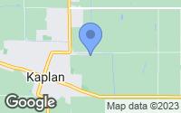 Map of Kaplan, LA