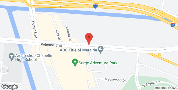6901 VETERANS Boulevard #73 Metairie LA 70003