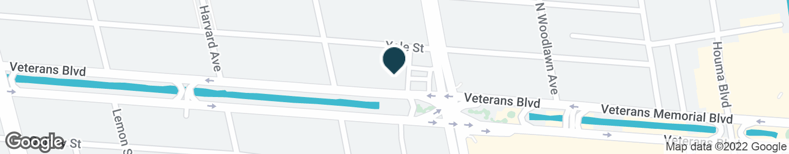 Google Map of4607 VETERANS MEMORIAL BLVD
