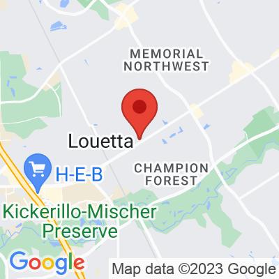 Map showing Barbarossa Coffee Roasters (Louetta)