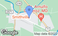 Map of Smithville, TX