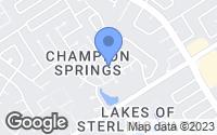 Map of Spring, TX