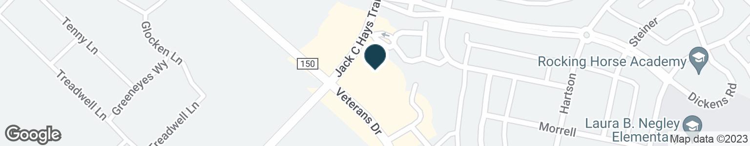 Google Map of6205 FM 2770