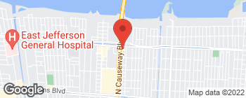 Map of 3525 N Causeway Blvd in Metairie
