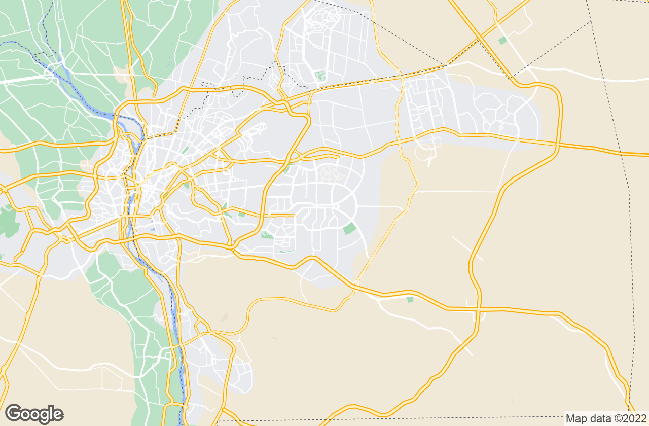 Google Map of New Cairo City