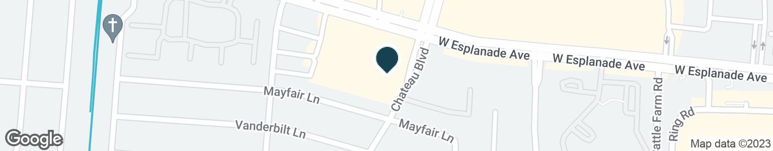 Google Map of821 W ESPLANADE AVE