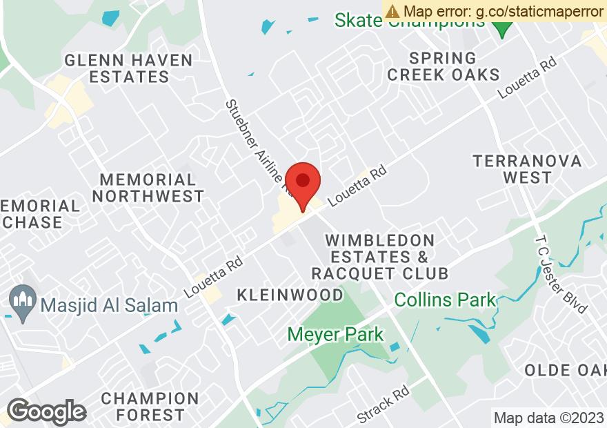 Google Map of 7304 LOUETTA RD