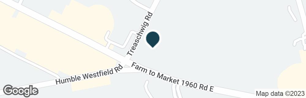 Google Map of2717 FM 1960 RD