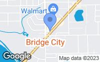 Map of Bridge City, TX