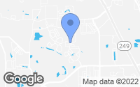 Map of Tomball, TX